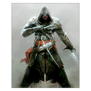 Assassin's Creed. Размер: 24 х 30 см